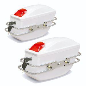 Universal Motorcycle Tail Bags Luggage Tank Tool Bag Hard Case Saddle Bags For Kawasaki/Honda/Yamaha/Suzuki