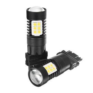 T20 LED Bulb 7443/3157 SMD3030 White/Yellow/Red Motorcycle Car Automobiles Light