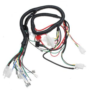 Electric Wiring Harness Wire Loom CDI Motor Stator Full Set For ATV QUAD 150/200/250CC