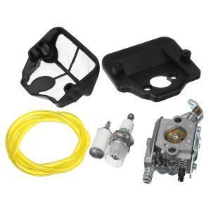 Carburetor Carb Fuel Filter Kit For Husqvarna 36 41 136 137 141 142 Chainsaw Zama C1Q-W29E