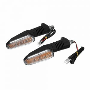 3LED 2W 12V Pair ABS Universal Motorcycle Turn Signal Lights Indicator Lamps