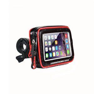 HEROBIKER Motorcycle Bike Mount Bracket Stand Holder For Phone Waterproof Case Bag For Iphone 6/7 Samsung
