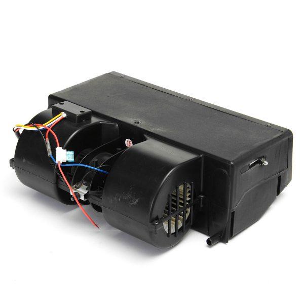 BEU-404-000 AUTO A/C Black Car Warming Evaporator Truck Heater Three Retaining Wind 12V Under Dash