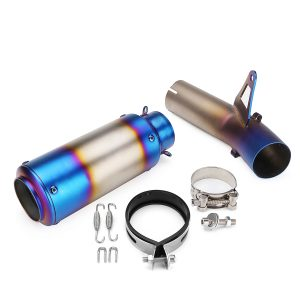 Slip On Full Exhaust Muffler System Pipe Middle Tube Tail Pipe For BMW S1000RR 2010-2014