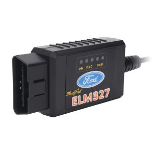 ELM327 USB Modified OBD2 Car Diagnostic Scanner For Ford MS-CAN HS-CAN Mazda Forscan