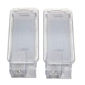 1.68W 6500K Car LED License Plate Lights Lamp for Peugeot 106 207 208 307 308 407