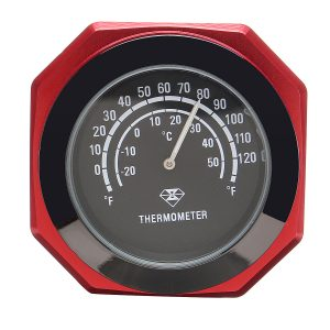 """7/8 1″ Motorcycle Accessory Handlebar Mount Clock Watch & Thermometer"""""""