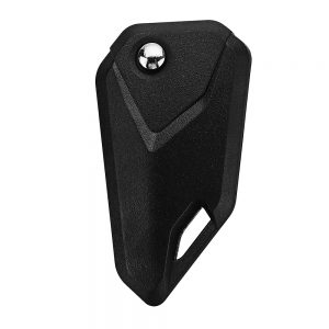 Universal Black Motorcycle Blank Key Foldable Accessories Shell Key Cover Uncut Blade