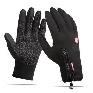 Men Women Touch Screen Skiing Gloves Winter Bike Warm Windproof Waterproof Anti-slip Thermal