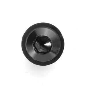 10x Black M5x15mm Fairing Nut Bolt Motorcycle Windscreen Windshield Screw