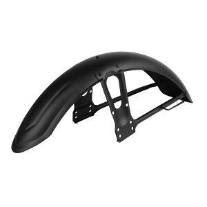 Metal Matte Black Chrome Motorcycle Front Sand Splash Mudguard Fender For Honda CG125