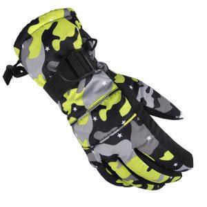 Winter Warm Skiing Motorcycle Outdoor Windproof Waterproof Riding Gloves