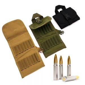 Tactical Accessory Bags with 14 Shots Bullet Box Shell Military Molle Waist Bag Belt