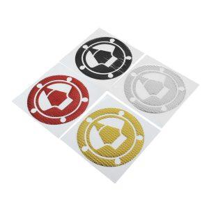 Motorcycle 3D Fuel Tank Cap Cover Pad Sticker For Kawasaki Ninja Z1000 X-6R/10R/12R/14R Z750 Z800