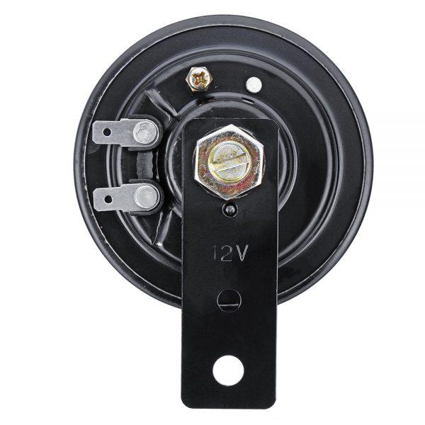 12V 105DB Motorcycle Horns Basin Speaker Tone Car Bike ATV Stainless Steel Trumpet