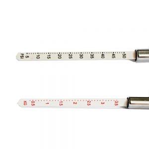 Pencil Pen Style Motorcycle Truck Auto Vehicle Car Tire Pressure Gauge 10-100 PSI Air Meter