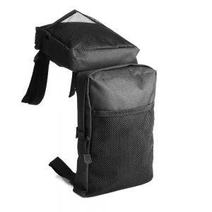 Pair 600D Black Waterproof Cargo Storage Hunting Fender Side Bags For ATV UTV 4-Wheeler