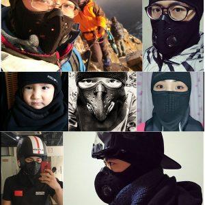 Full Face Mask Balaclava Warm Winter Motorcycle Cycling Windproof Sport Neck Hood Hat