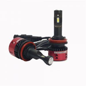CNSUNNYLIGHT H4 H7 H11 30W 11-30V Motorcycle Headlights Spotlight Mini Type LED