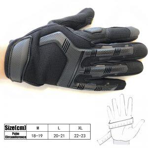 Motorcycle Anti-slip Sport Gloves Winter Warmer Hands Skiing Bike Fiber