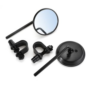 22/25MM Universal Motorcycle Scooter Handlebar Back Rear View Side Mirrors