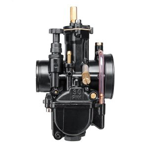 Motorcycle 30mm Carburetor Racing Part Replacement +3 Hoses For Keihin Carb PWK