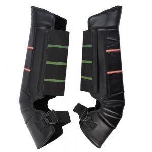 Winter Motorcycle Cycling PU Leather Kneepads Protector Leg Warm Waterproof Stainless Steel Hook