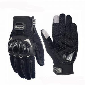 Riding Tribe Motorcycle Motocross Gloves Touch Screen Anticollision Anti-slip Full Finger