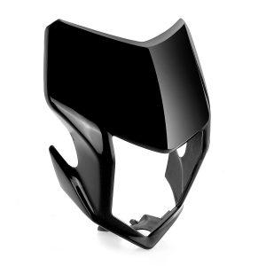 Motorcycle Front Headlight Visor Fairing Black For Honda CRF250L CRF250M 2012-2017