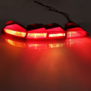 Rear Left/ Right Car Side Lower Bumper Tail Light Lamp Red for AUDI Q3 2011-2015
