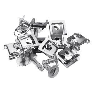 10 Set Under Engine Cover Kit Screw Body Clip Full Set For Audi VW