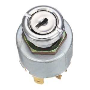 12V 4 Position Ignition Lock Switch with Keys For Car Motorcycle Boat Universal