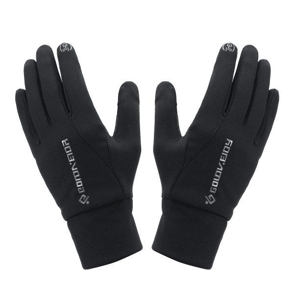 Touch Screen Gloves Motorcycle Scooter Waterproof Winter Bike Fleece Lined