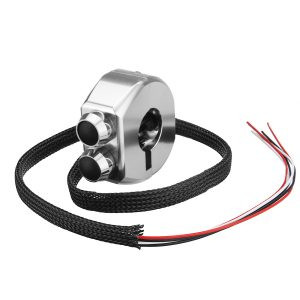 3 In 1 CNC 22mm Alloy Button Light Start Kill Switch Motorcycle Handlebar Cafe Racer