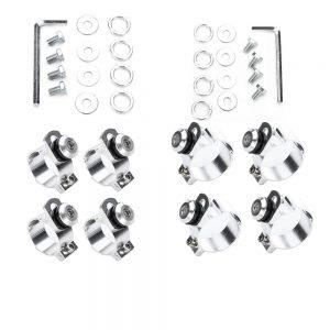 39/49MM Motorcycle Headlight Full Fairing Trigger Lock Mounting Kits For Harley Sportster XL883 1200