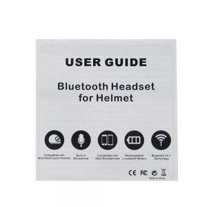 50M 110dB Wireless Motorcycle Helmet Headset With bluetooth Function Hands Free Intercom