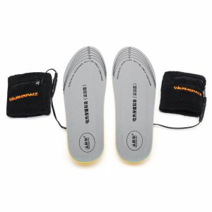 Electric Heated Insole Waterproof Foot Warmer Cut-to-Fit Battery Charging Sport Shock Absorption