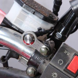 Bosmaa MK6L Motorcycle Self-lock Switch ON-OFF Handlebar Adjustable Mount Waterproof Switches Button 12V Headlight