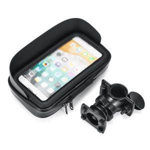 6.3inch Phone Holder Motorcycle Bike Handlebar GPS Bicycle Mount Case