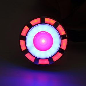 12V Motorcycle Rear LED Brake Lamp Bulb ABS Motorbike Tail Stop Light Colorful
