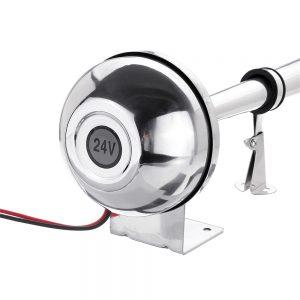 120db 12V 408hz Single Trumpet Train Electric Horns For Car/Truck/Bus/Van/Motorcycle
