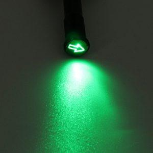 12/24/36V 12MM LED Dashboard Warning Signal Light Van Dash Panel Indicator Lamp