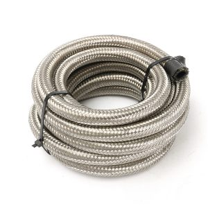 Aluminum Cell AN10-AN6 Fitting Braided Steel Feed/Fuel Gas Tank Return Hose Line Kit