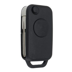 1 Button Flip Remote Key Fob Case Shell Uncut Blade For Mercedes-Benz 1992-2003