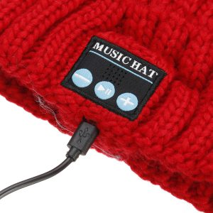 Stylish bluetooth Music Beanie Hat Wireless Cap Headset Headphone Speaker Mic