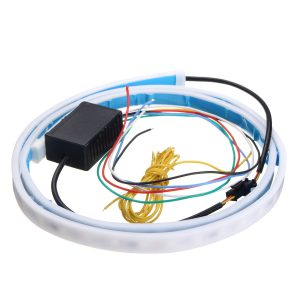 1.2m LED Car Tail Trunk Tailgate Strip Light Brake Driving Signal Flowing Lamp