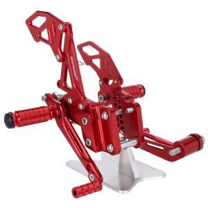 NEVERLAND CNC Rearsets Motorcycle Rear Foot Rest For SUZUKI GSXR 600 750 GSX-R600/750 06-10