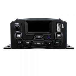12V Motorcycle Audio Sound System Remote Control Speaker Suit FM SD USB MP3