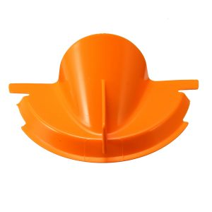 Motorcycle Orange Drip-Free Oil Filter Funnel Primary Case O il Fill Funnel