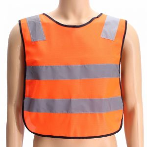 Child Safety Yellow Vest Reflective Reflector Clothing High Visibility